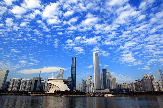 广州2016年空气质量达标天数超过312天