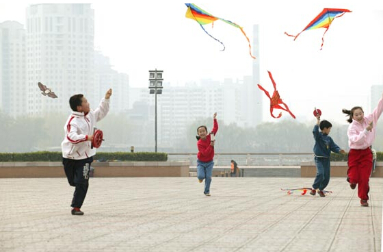 广州重阳节习俗之放纸鹞