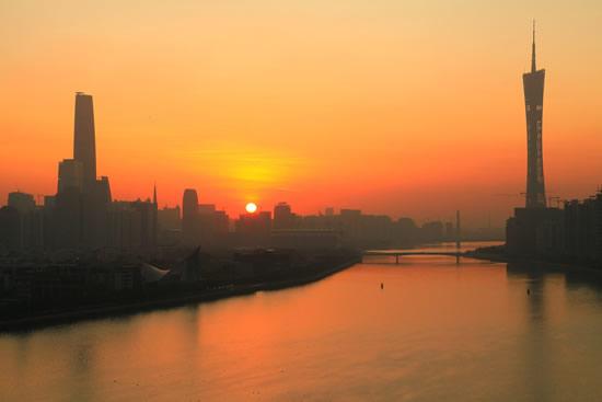 全球十大发展最快的旅游城市广州第二名