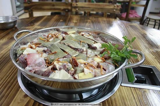 广州美食之另类桑拿派桑拿火锅