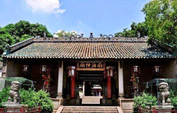 广州南海神庙是海上丝绸之路的起点