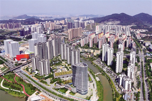 南沙区将会是广州未来的发展中心