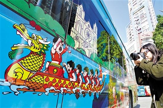 广州一日游坐怀旧电车品味羊城古韵