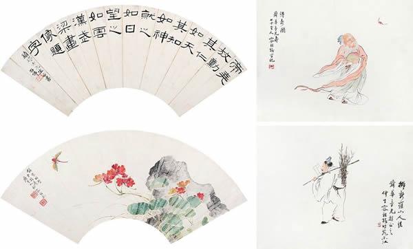 广州艺术博物院藏容祖椿百花画展今日开始