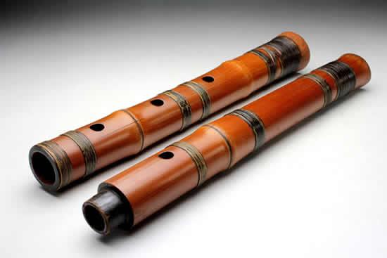 尺八在隋代和唐是宫廷中的主要乐器之一