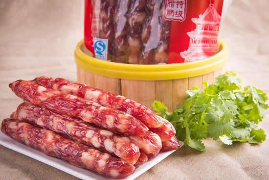广式香肠力压其他地方特产成国民年货