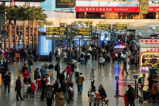 2月8日起广州白云机场将迎节前春运客流高峰