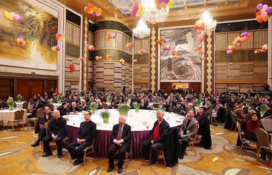 广州举行2018年各界人士春节团拜会