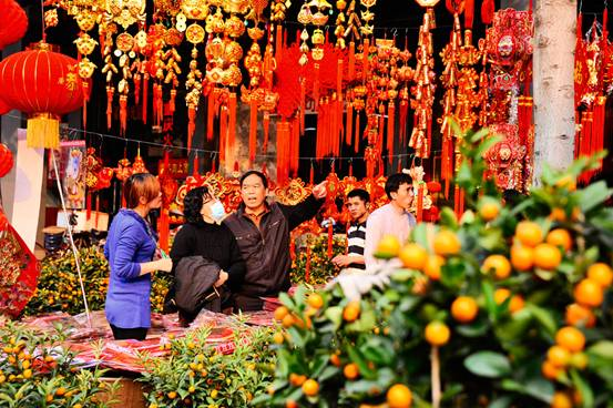 行花街是广州市民具有悠久历史的传统民俗