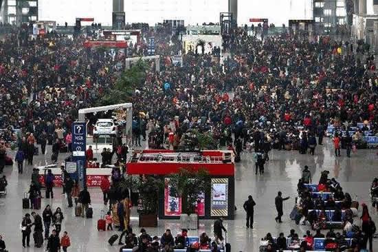 广州春节前发送旅客将达到1223万人次