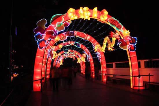 广州一日游到文化公园看元宵灯会