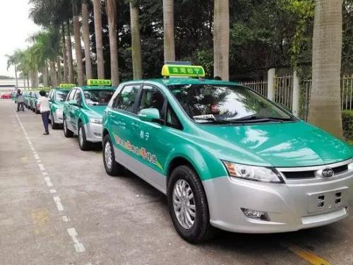 广州计划2022年底实现出租车全面新能源化