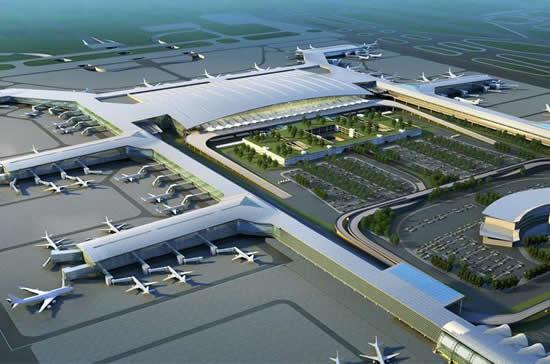 2018年春运广州白云机场航班起降2.84万架次