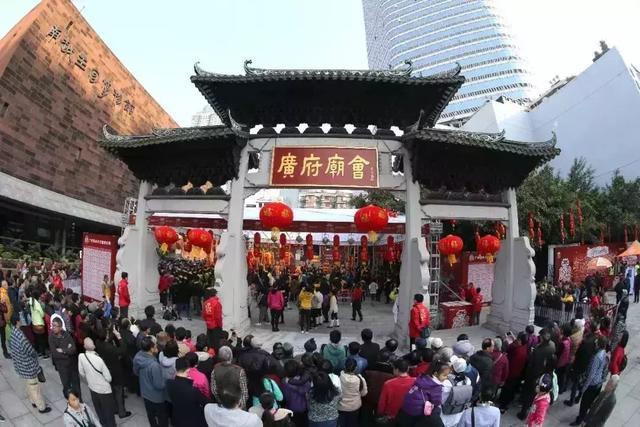 广州百年城隍庙,庙会盛况更胜当年!