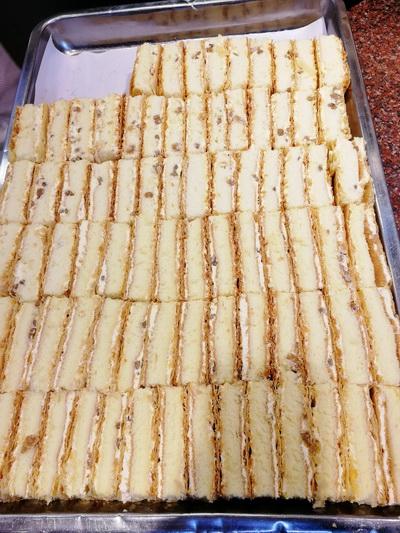 西门口美食推荐,广州美食推荐,西饼蛋糕店铺推荐,百穗西点,拿破仑