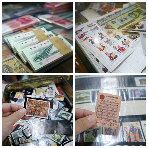 西门口专题,西门口淘宝的乐趣,纵原邮币卡收藏品市场