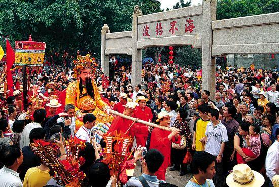 广州一日游到南海神庙祈福游玩逛庙会