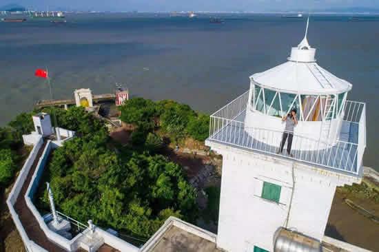 广州百年灯塔舢舨洲灯塔一日游