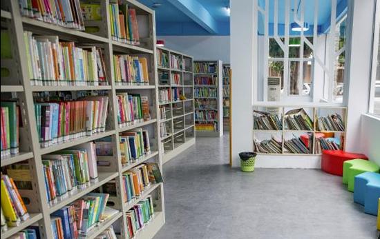 广州白云区图书馆少儿天地全面对外开放