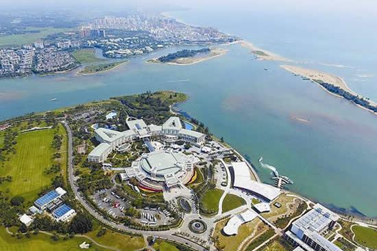 广州在海南博鳌举办2018城市形象国际传播年推介会