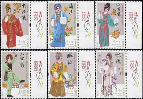 到广州艺术博物馆观赏《粤剧》特种邮票原画