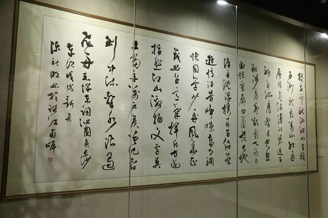 广州市海珠区4月12日在十香园举办廉洁文化书画篆刻展