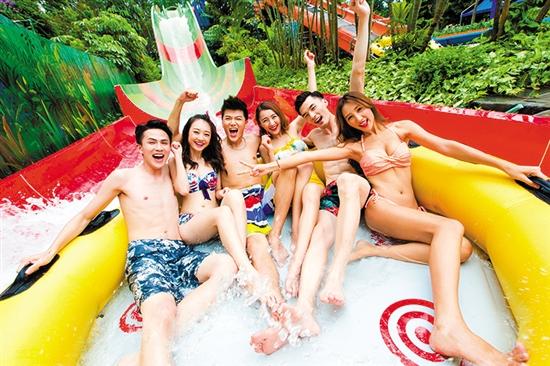 周末一日游玩转广州长隆水上乐园摩天旋转滑道!