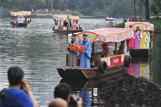 仁威传奇荔湾演绎在广州荔枝湾公园举行