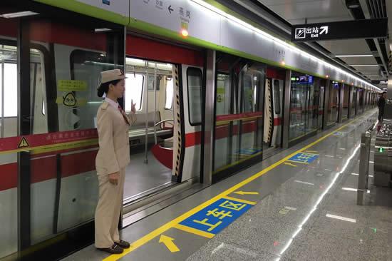 广交会期间广州地铁将增加上线列车数来运送旅客