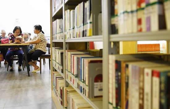 广州海珠区图书馆素社分馆昨日正式开馆