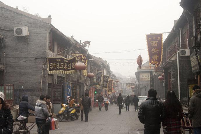 洛阳老城的千年街道