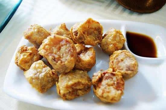 广州美食东江炸腐卷你吃过了没有?
