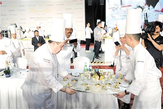 """""""厨艺奥运""""博古斯世界烹饪大赛2018年亚太区选拔赛"""