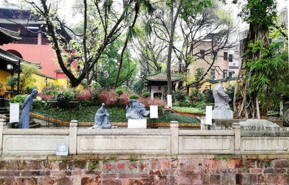 你知道广州谷神庙在哪里?