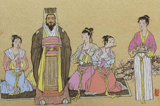 中国古代历史名人百图汪晓曙绘画作品展在广州图书馆展出