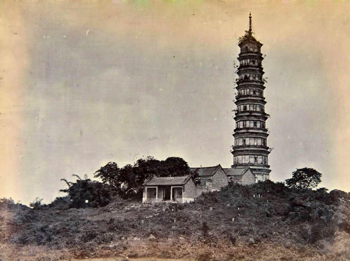 广州讲古之珠江三塔——琶洲塔