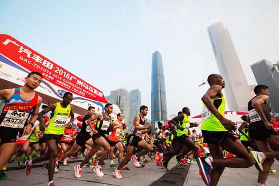 2018年广州马拉松赛将于2月9日鸣枪起跑 预计将有超过2万人参加