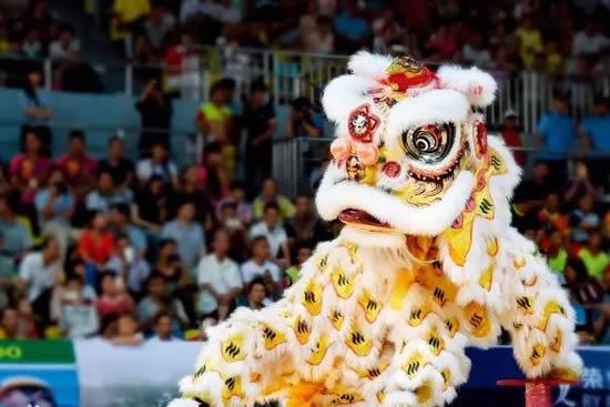 2018年一带一路国际醒狮艺术交流季在广州开幕 致力于普及和推广醒狮文化