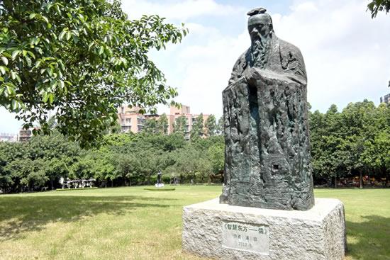 广州雕塑公园将添雕塑展示平台 让游客更加便利地欣赏