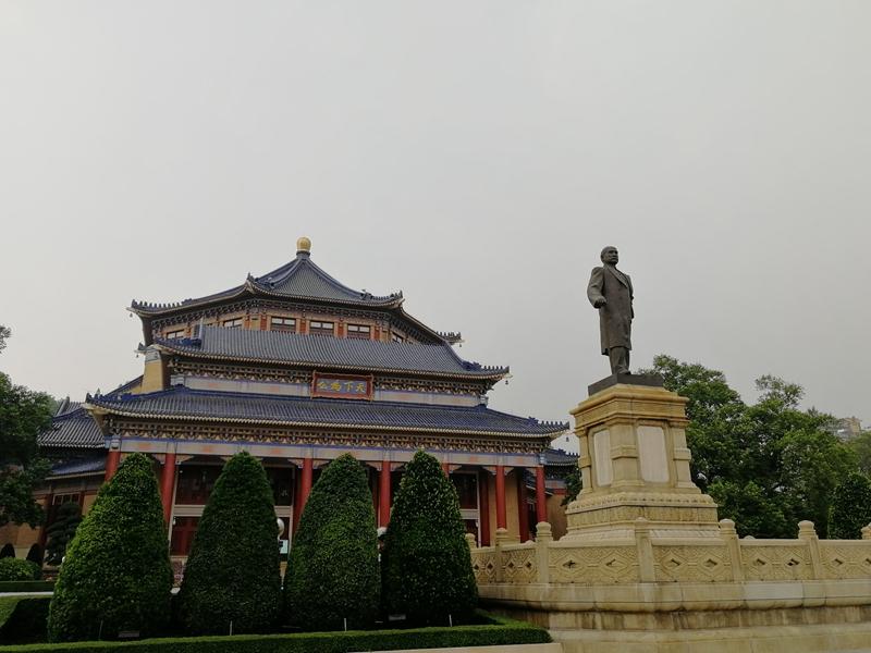 中山纪念堂,不同角度下的美