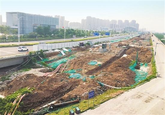 机场东路将成为金湾区新的城市名片情侣路 预计2018年航展前完工
