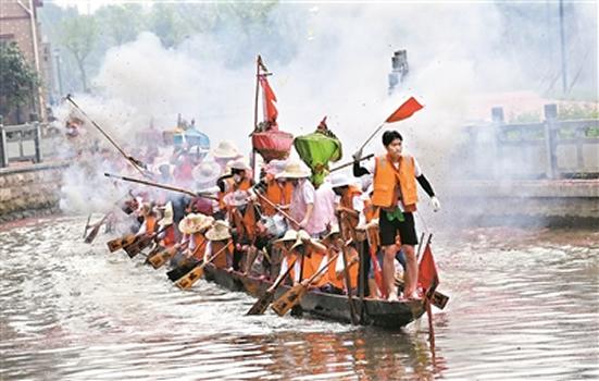 2018年端午节将至 广州各区准备举办一年一度的龙舟活动