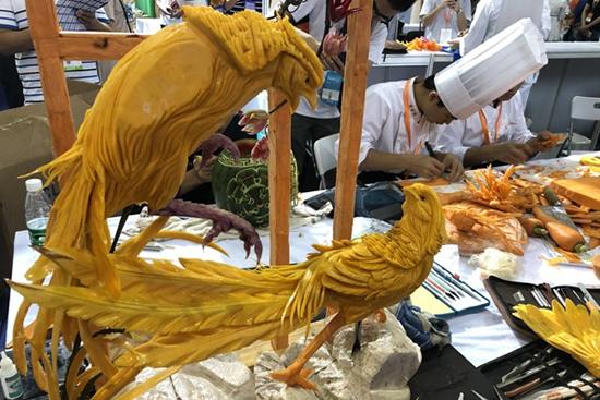 第七届广州国际食品食材展在广州琶洲保利世贸博览馆开幕