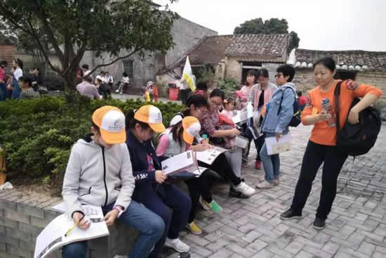 广州举办艺道游学南粤古驿道少儿绘画大赛宣讲会 分享快乐游学和各种文化体验