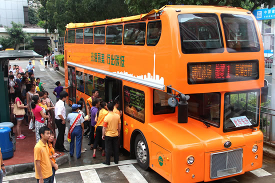 广州10名小朋友获得观光巴士代言人称号 将向广大游客讲解景点观光