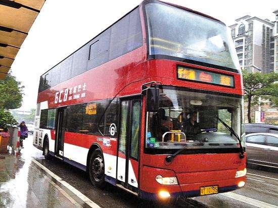 广州首条全线均使用纯电动双层巴士 为科学城通勤市民提供出行便利