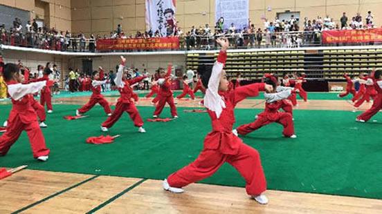 2018广州岭南武术非遗文化周举行 推动岭南武术和中医的融合发展