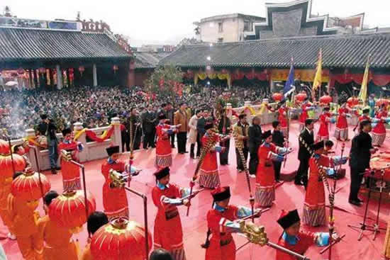 德庆举行孔庙传统文化节暨开笔礼活动启动 千年德庆学宫万人游学之旅