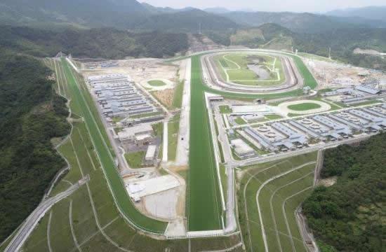 广州从化跑马场揭秘 全年进出境马匹数量可达2万匹以上