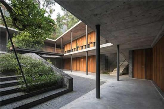 岭南地区传统合院式书院形制 对岭南传统宅院建造的一次重组